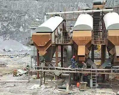 贵州锦屏砂石生产线除尘器